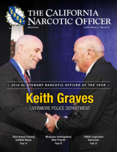CNOA Narcotics Officer of the Year Keith Graves