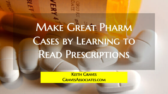 reading prescriptions