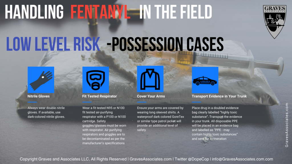 fentanyl exposure low risk possession cases