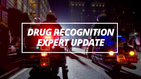 Drug Recognition Expert Updatebr